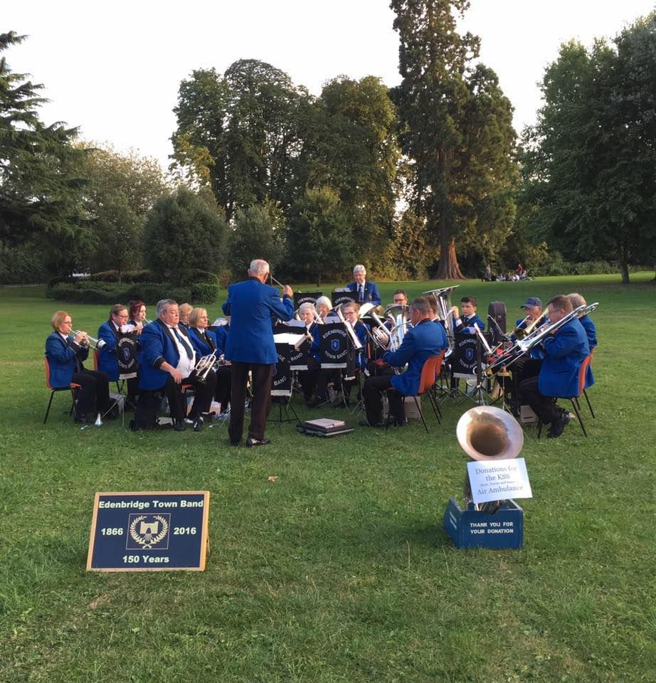 Concert in the park on 10 August 2016